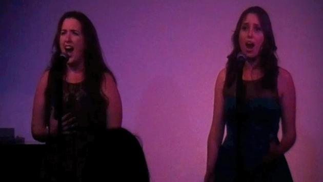 Singing at Don't Tell Mama